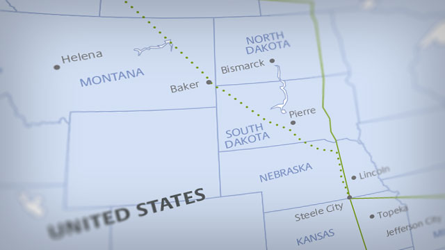 Keystone XL Pipeline Route Map thumbnail