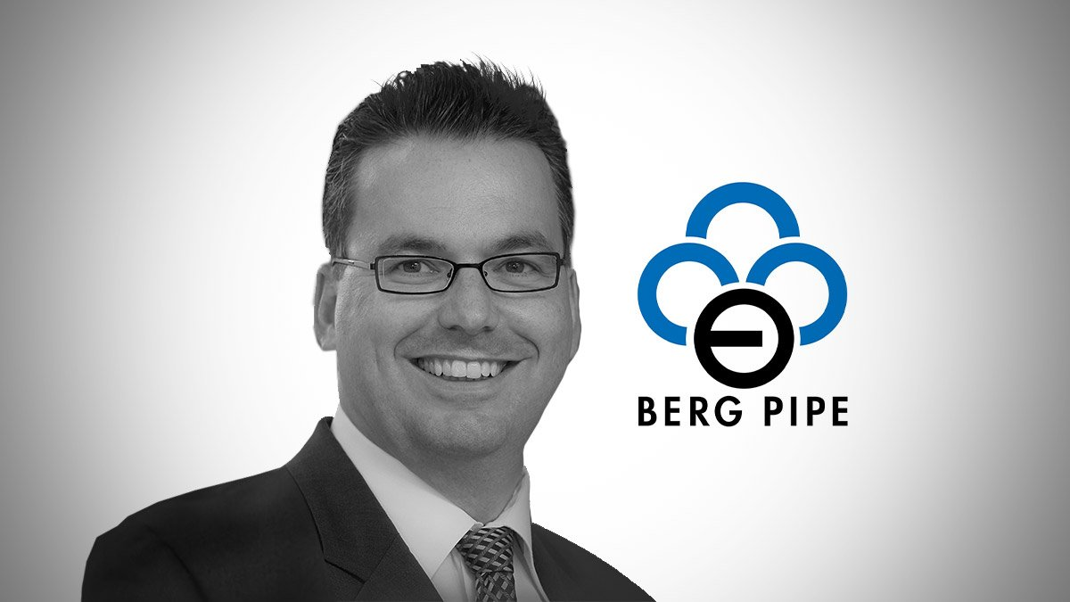 Peter Borgards - Chief Commercial Officer - Berg Pipe